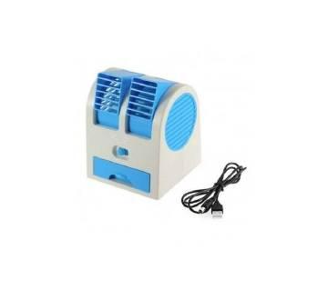 2 in 1 USB Mini Humidifier Air Cooling Fan