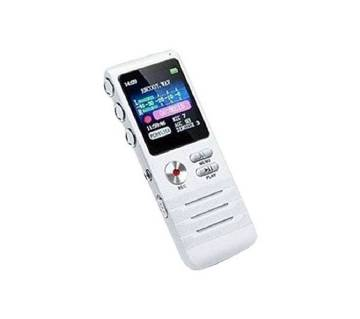 Rechargeable Dictaphone Telephone MP3 Player 8GB