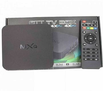 MXQ Android স্মার্ট TV বক্স