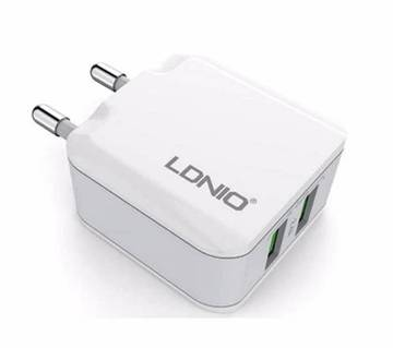 LDNIO 2 USB Port 5V 2.4A travel charger