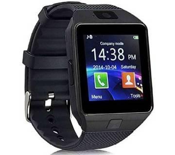 Black Stylish Smart Watch DZ09