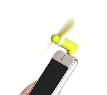 Portable Micro USB ফ্যান For Mobile Use