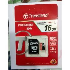 Transcend Memory Card -16 GB