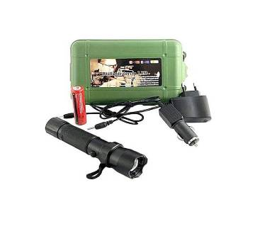 800M Brightest LED Rechargeable Torch