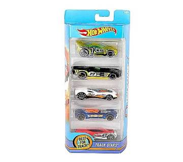 Hot Wheels Exclusive Car Toy - 5pcs