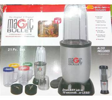 Magic Bullet Blender- 21 Pcs