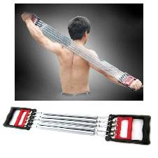 Chest Pull - Chest Expander & Hand Gripper