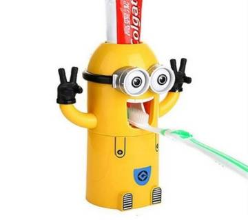 Minion Wash Kit Automatic Toothpaste Dispenser