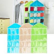 16 Pocket Wall mounted storage bag