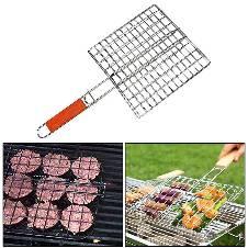 BBQ Grill Net Handle