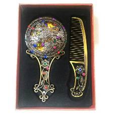 Mirror & Comb Box