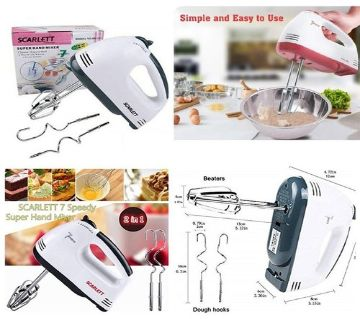 Scarlett - Electric Egg Beater and Mixer for Cake Cream