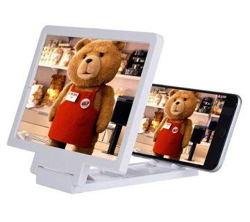 Portable 3D mobile screen magnifier
