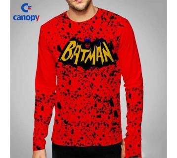 Batman printed full sleeve t-shirt for man