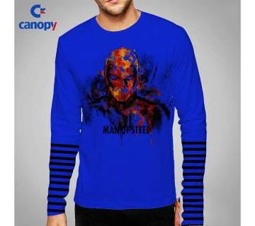 Full sleeve cotton gents t-shirt