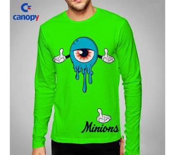 printed cotton full sleeve t-shirt for men