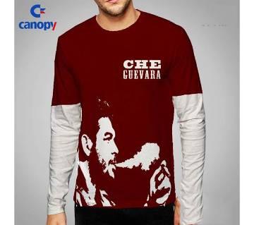 Che Guevara printed full sleeve t-shirt for men