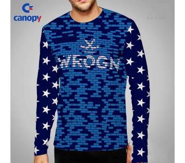 full sleeve cotton t-shirt for men