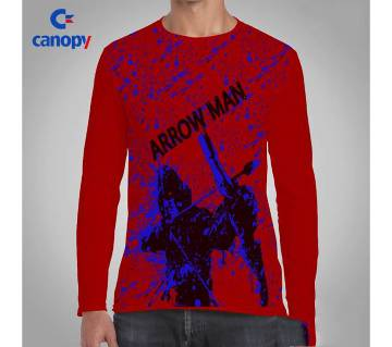Arrow Man printed t-shirt for men