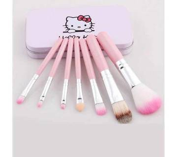 New Hello Kitty মেকআপ ব্রাশ সেট (৭ পিস)