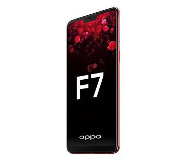 "OPPO F7 - Smartphone - 6.23"" - 4GB RAM - 64GB ROM - 16MP Camera - Solar Red"