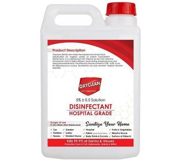 Oxyclean Hypo Disinfectant 5 ltr