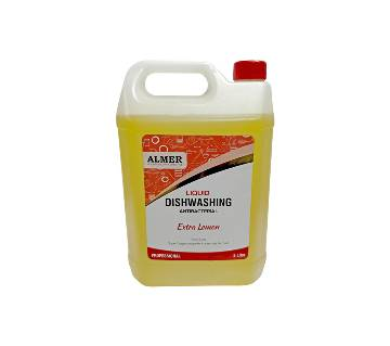 Almer Dish Wash Liquid (Extra Lemon) 5000 ml