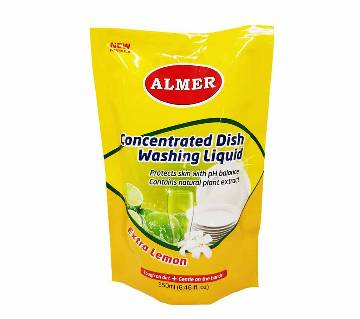 Almer Liquid Dish Cleaner Refill Pack 250 ml