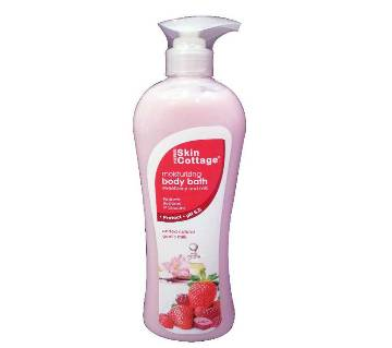 SKIN COTTAGE Body Bath (Strawberry & Milk) 1000 ml