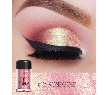 Focallure glitter Loose Pigment Eyeshadow ROSE GOLD shade