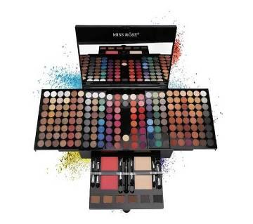 Miss Rose Professional Makeup 180 Colors Matte Shimmer Palette Powder Blush Eyebrow Contouring Beauty Kit Box