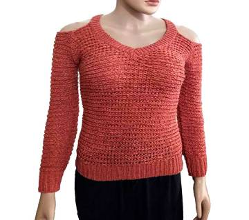 Off Shoulder Sweater For Ladies