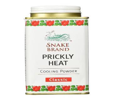 Snake Brand Prickly Heat Cooling Powder Classic (Thailand)