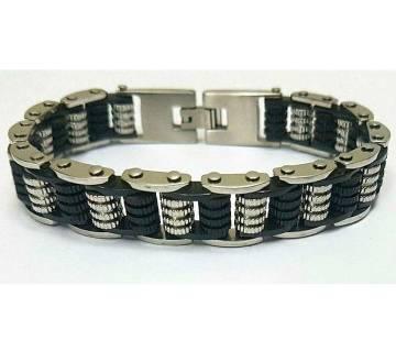 Black & Silver Plated Bracelet