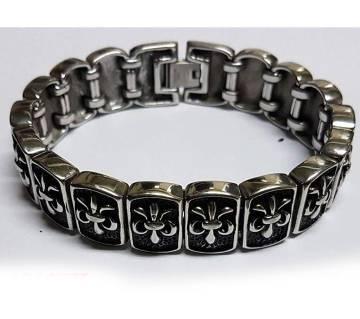 Korean Black Silver Bracelet