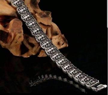 Korean Silver Ash Bracelet for Men