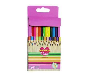 Matador i-teen full size color pencil-12 pcs