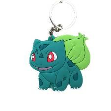 Pokemon Bulbasaur PVC Rubber Key ring