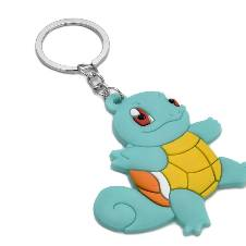 Pokemon Squirtle PVC Rubber Key Ring