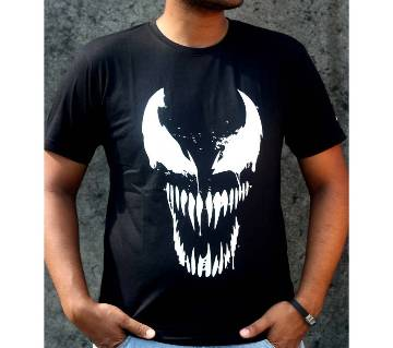 Venom জেন্টস হাফ স্লিভ কটন টি-শার্ট