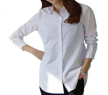 Ladies Stitched Linen Shirt