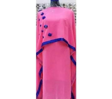 Unstitched Party Gown Cape Set