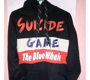 Suicide Game The Blue Whale হুডি ফর মেন