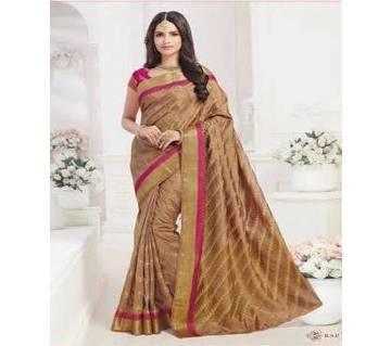 Rajguru Heena তসর সিল্ক কাতান শাড়ি