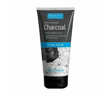 BEAUTY FORMULA CHARCOAL Facial Scrub UK