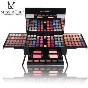 Miss Rose 180 Color Complete Eyeshadow Palette Box Makeup Box Eyeshadow
