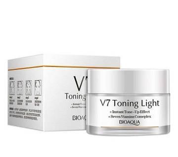 BIOAQUA V7 Toning Light Cream,50gm China