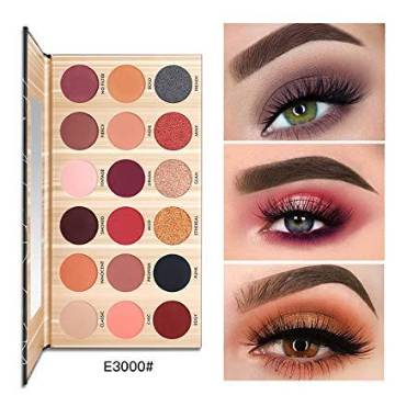 Pudaier Matte And Shimmer 18 Colors Eyeshadow Palette