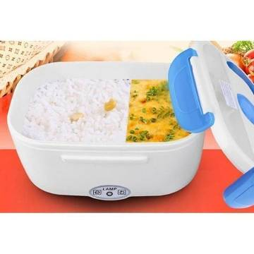 Portable Electric Lunch Box - White