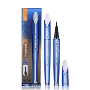 BOB Silk Unlimited Eyeliner Gel Pen 3D Liquid Eye Liner Pencil Super Black Fast Dry Waterproof Eyeliner